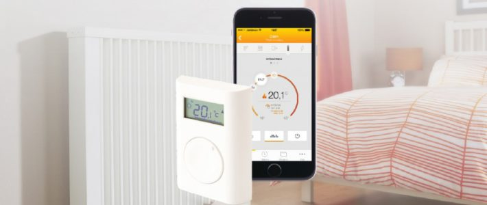 Security Data Connector und Thermostat von JABLOTRON